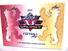 2013 Valiant Football Box Leaf Hobby Sealed 5 On Card Auto Rookies FREE SHIP