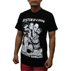 System of a Down Rock Band T Shirt Black White