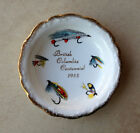 British Columbia Centennial 1958 Collector Plate Fly Fishing Queen Anne China UK