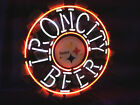 IRON CITY NFL Pittsburgh Steelers Football Beer Bar Neon Light Sign 16