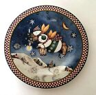 Sakura by Oneida China Debbie Mumm SNOW ANGEL VILLAGE Holiday 4 Salad Plates