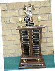 44 Plates on Perpetual Fantasy Monster Football Trophy Award W FFL SEAL