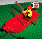 LEGO RED ROWBOAT WITH A PIRATE
