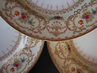 Set of 7 Vintage Paragon Alexandria~# Z 219~Hand Painted Flowers Salad Plates 8