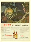 1944 Vintage ad for Seagram's 5 & 7 Crown Whiskey/Mariner's Compass (032813)