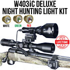 Wicked Lights W403IC Deluxe Night Hunting Light Kit for Coyotes hogs predators