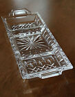 Waterford Lismore 3 Section CRYSTAL SERVING DISH -  BRAND NEW