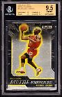 2008-09 SKYBOX METAL UNIVERSE #23 MICHAEL JORDAN *BGS GEM 9.5. *POP=4 PMG CHROME