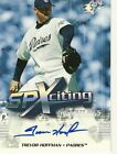 Trevor Hoffman 2006 UD SPXciting Signatures Autograph RARE Serial Numbered 19 30
