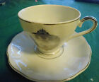 Napcoware Japan Porcelain 25th Silver AnniversaryWhite Cup and Saucer