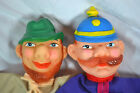 German Hand Puppets, 1970,s For Boys and Girls