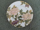 Fitz and Floyd Cloisonne Peony White Salad Plate Japan #323 Never Used