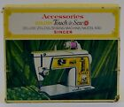 Vintage Singer 630 Golden Touch & Sew Deluxe Zig Zag Sewing Machine Accessories