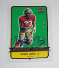 Roger Craig 2007 Ultra Gridiron Legends AUTOGRAPH Card 59 99 Pack Pulled 49ers