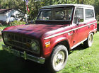 Ford  Bronco Sport 1971 ford bronco sport 4 x 4 302 v 8 3 speed hardtop convertible