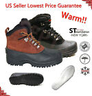LM Mens Insulated Winter Snow Boots Shoes Warm Lined Thermolite Waterproof 8