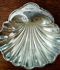 ANTIQUE SILVER CLAM SHELL CANDY DISH