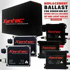 Two Xentec Xenon Lights HID Kit s Replacement Ballasts H4 H7 H11 H13 9006 9004
