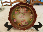 M. Z. Habsburg China Austria Hand Painted Deorative Plate 9