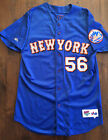 NEW YORK METS AUTHENTIC GAME USED OFFICIAL MLB BRIAN McRAE BATTING JERSEY NY