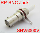 50pcs RP-BNC Female (male Pin) High Voltage Bulkhead Power Audio Connector 5000V
