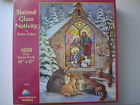 Stained Glass Nativity by Parker Fulton Jigsaw Puzzle 1000 Piece Made in USA New