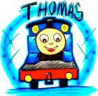 Thomas And Friends Thomas The Train Airbrushed T Shirt Every Size Available
