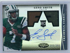 2013 Certified GENO SMITH Autograph #99 399 Jersey Relic Rookie Auto RC Jets