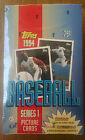 1994 TOPPS BASEBALL SERIES 1 PICTURE CARDS - 36 WAX PACKS IN FACTORY SEALED BOX