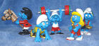 FIVE 2012 SMURF OLYMPIC PVCS RACING BAR BELLS HOBBY HORSEGOLD MEDAL MINT COND