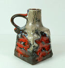 carstens 1960's VASE with wild glaze and colors model 7128-19