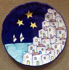 Vietri Pottery-10in. Dinner Plate Positano Pattern.Made/Painted by hand in Italy