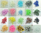 New 4mm 6mm 8mm DIY Half Pearl Round Bead Flat Back Scrapbook For Craft