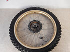 1983 Yamaha YZ 490 Front Wheel Rim Hub Brake Drum - Free Shipping