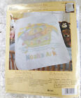 New Noahs Ark Stamped Cross Stitch Baby Quilt Embroidery Kit Blanket