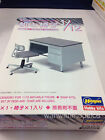 Hasegawa Furniture Model 1/12 Office Desk & Chair FA03 Hobby 62003 H2003