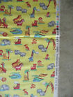 OUT OF PRINT - TWO BY TWO HOFFMAN BRIGHT COLORS YELLOW COTTON FABRIC QUILT BTY