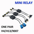 Easy Relay Harness For H4h139007 Hilo Bi-xenon Hid Bulbs Wiring Controller