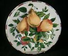 Set of 4 Sakura Oneida Sonoma Excell Fruit Pattern Dessert Salad Luncheon Plates