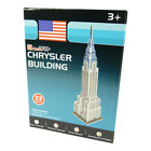 CubicFun - 3D Puzzle - Chrysler Building - USA - Construction - Toys 22 parts