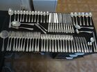 Co. Flemish 71 Piece Sterling Silver Silverware Set