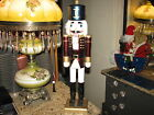 Vintage 23 in tall Christmas soldier nutcracker