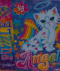 LOT OF 48 PCS  PUZZLES LISA FRANK ANGEL KITTY PUZZLE.