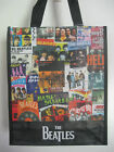 The BEATLES LP Albums John Paul George Ringo Small Recycled Shopper Bag Tote