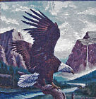18 x 18  INCH READY TO FINISH EAGLE TAPESTRY PANEL