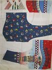 Daisy Kingdom Uncut Fabric Panel Girls Sailor Bear Vest