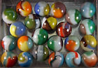 Mint Lot of 23 mixed Vitro Agate marbles LOT C
