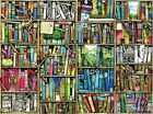 Puzzlelife JIGSAW Paper Puzzle 300pc Book Shelf Hobby Decoration Assembly Gift
