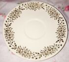 Lot 2 VINTAGE ATLAS CHINA TAYLOR SMITH 22KT GOLD SAUCER Floral