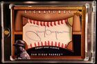 2005 Sweet Spot Classic Signatures TONY GWYNN Autograph Red Stitch Ball Leather